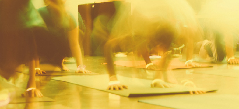 Die richtige Yogamatte finden
