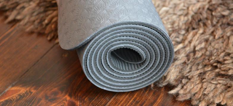 Yogamatten aus Kunststoff