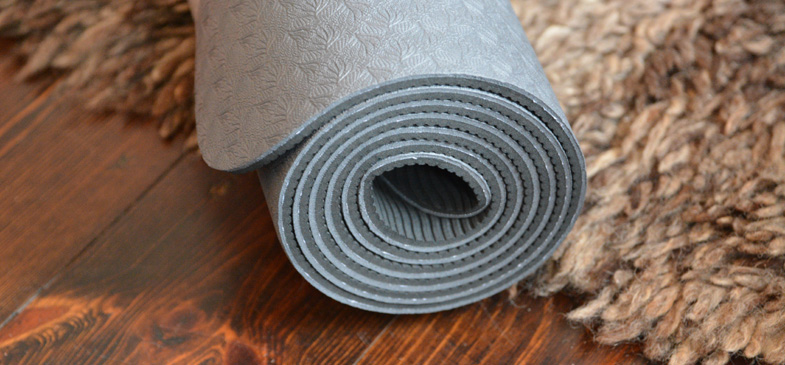 Yogamatte-Kunststoff