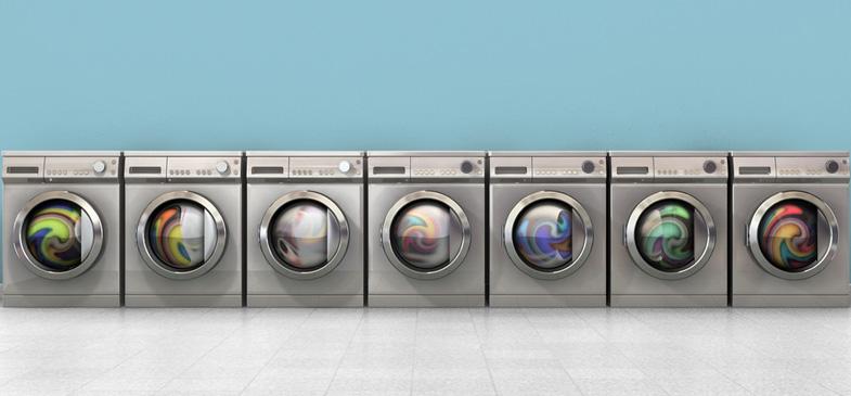 Yogamatte-waschmaschine