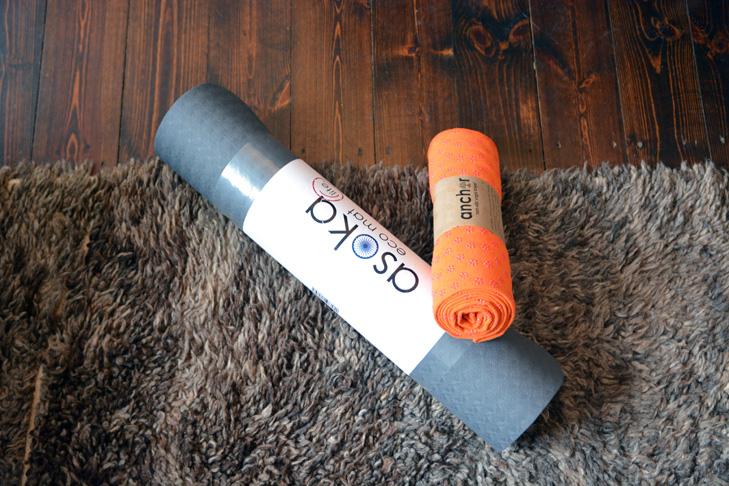 Yogamatten Handtuch